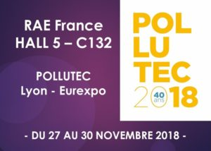 RAE France au salon POLLUTEC 2018